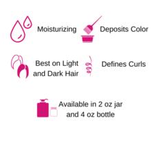 Gemini Naturals Gemini Naturals Get Hued Hair Color Make-up, Midnight