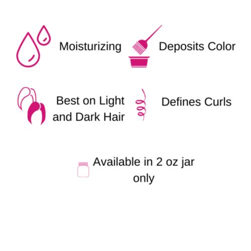 Gemini Naturals Get Hued Hair Color Make-up, Sunset