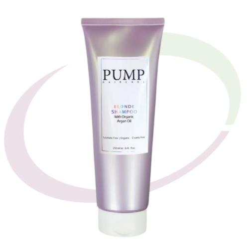 Pump Haircare Blonde Shampoo, 250 ml