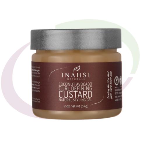INAHSI Coconut Avocado Curl Defining Custard, 59 ml