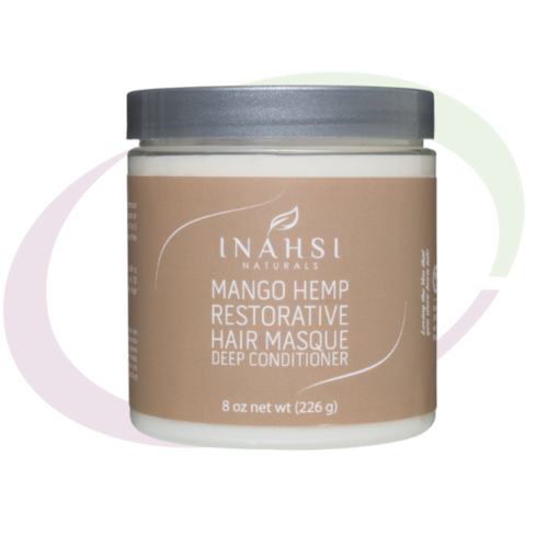 Inahsi Naturals INAHSI Mango Hemp Restorative Hair Masque,  226 gr