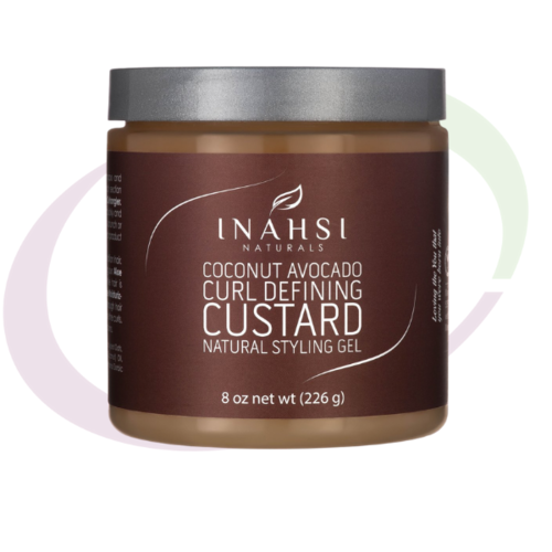 INAHSI Coconut Avocado Curl Defining Custard, 237 ml