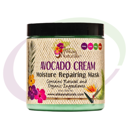 AliKay Naturals, Avocado Cream Hair Mask,  236 ml