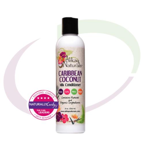 AliKay Naturals Alikay Caribbean Coconut Milk Conditioner, 237 ml