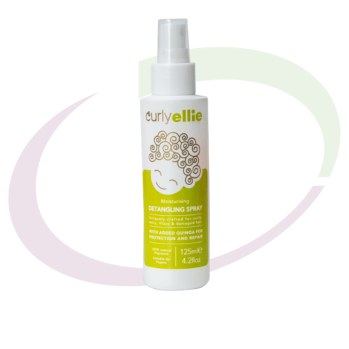 CurlyEllie Detangling Spray, 125 ml
