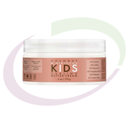 Coconut & Hibiscus KIDS Curling Butter Cream, 170 gr