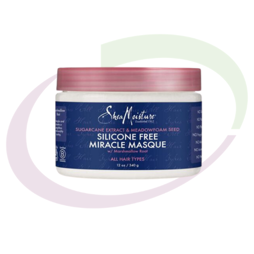 Shea Moisture Sugarcane Extract & Meadowfoam Seed Miracle Masque, 340 gr