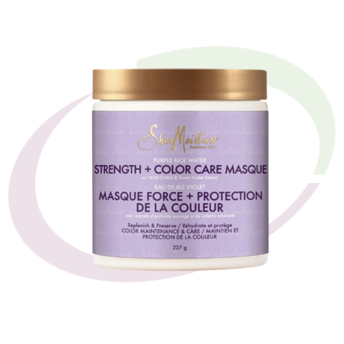 Shea Moisture Purple Rice Water Strenght & Color Masque, 227 gr