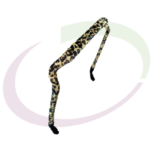 Zazzy Bandz Wrapped Pattern Leopard
