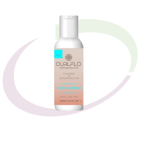 Curl Flo, Curl Moisturising Cream Travel Size, 100  ml