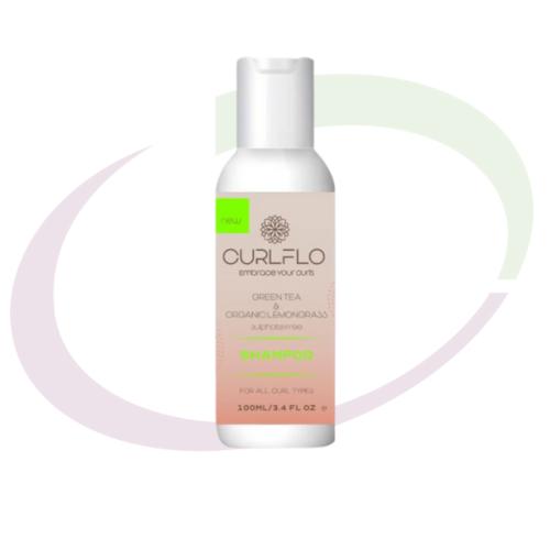 Curl Flo, Moisturising Cream Shampoo Travel Size, 100 ml