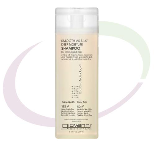 Giovanni Smooth as Silk Shampoo, 250 ml