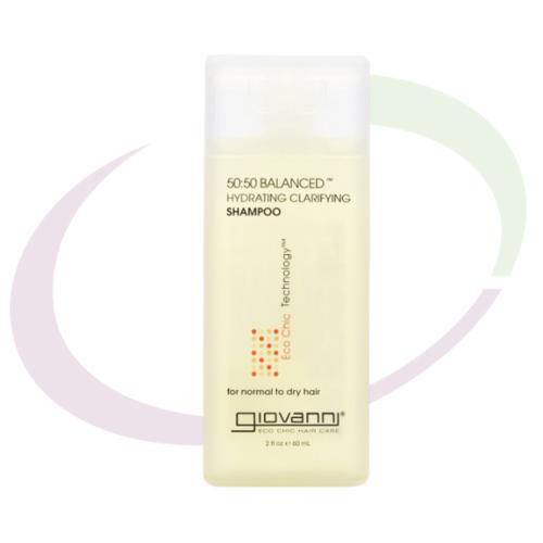 Giovanni 50/50 Balanced Shampoo, 60 ml