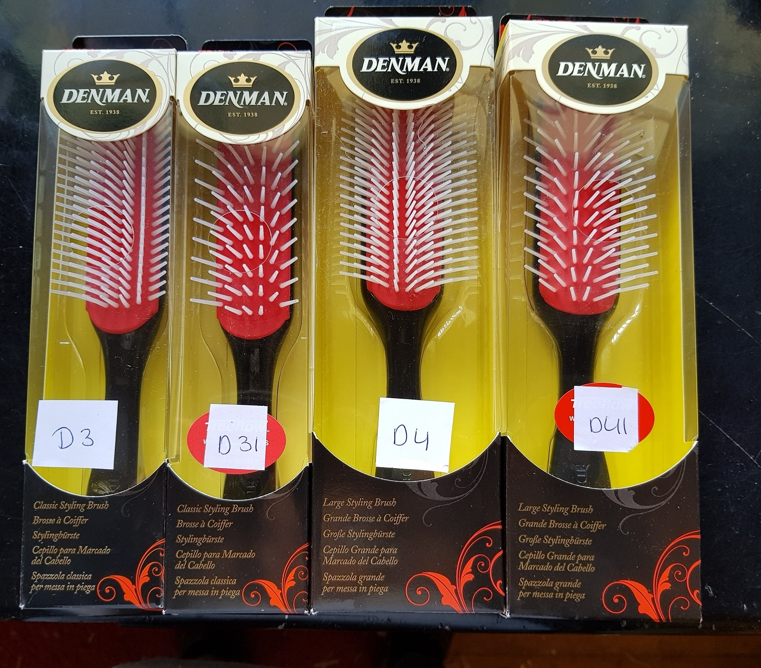 The Denman Brush Which One Must I Choose Cg Producten Nl