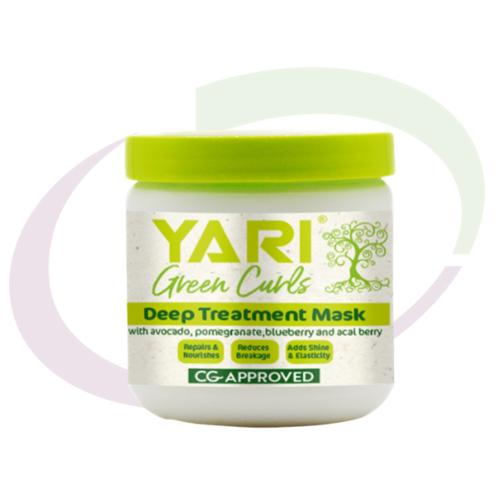 Yari Green Curls, Deep Treatment Mask, 475 ml