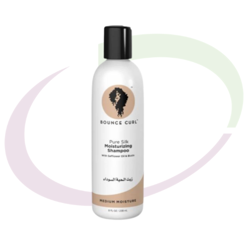 Bounce Curl Pure Silk Moisturizing Shampoo, 238 ml