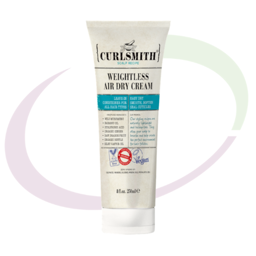 Curlsmith, Weightless Air Dry Cream, 237 ml
