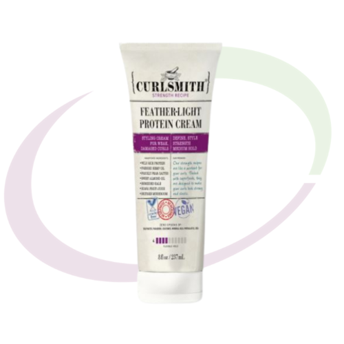 Curlsmith, Feather-light Protein Cream, 237 ml