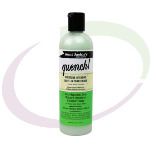 Aunt Jackie's Quench Leave-in Conditioner, 355 ml