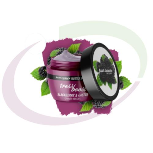 Aunt Jackie's TRESS BOOST - Blackberry & Castor Hair Growth Masque, 237 ml