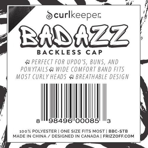 Curl Keeper, Badazz Backless Cap