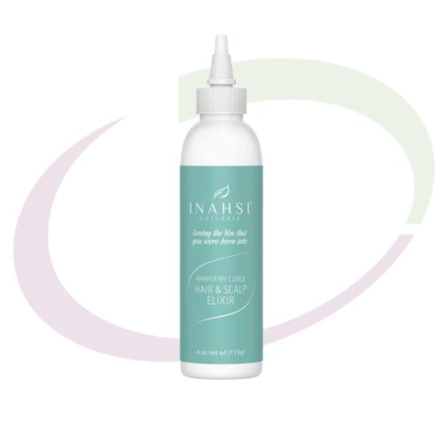 INAHSI Pamper My Curls Hair & Scalp Elixir - Travel Size, 59 ml