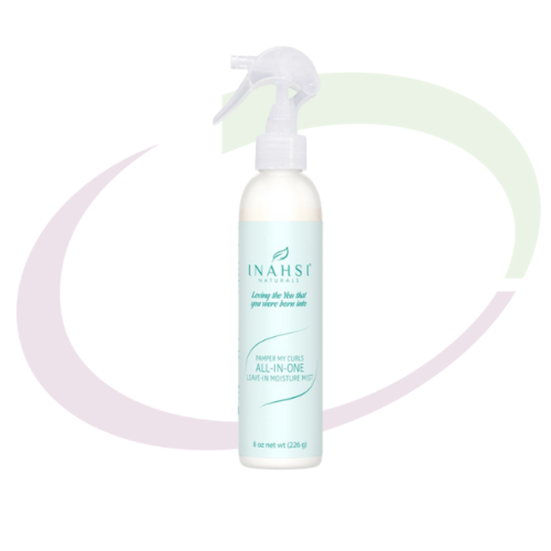 INAHSI Pamper My Curls All-in-one-Leave-in Moisture Mist - Travel Size, 59 ml