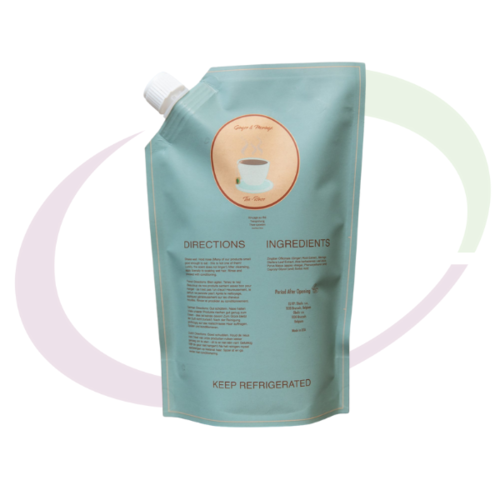 Ecoslay, Ginger and Morringa Tea, 237 ml