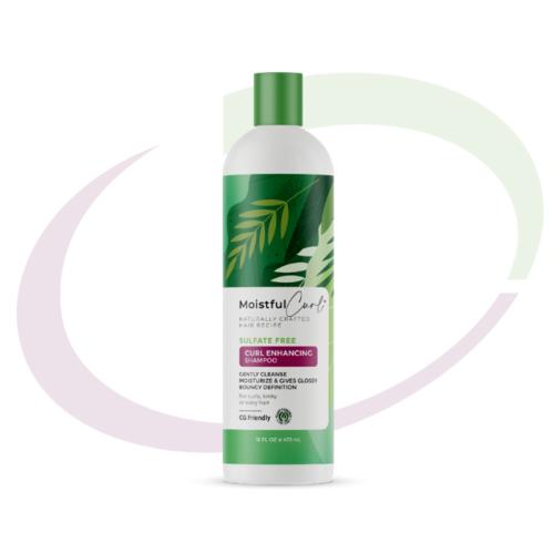 Moistful Curl Sulfate Free Curl Enhancing Shampoo 473 ml