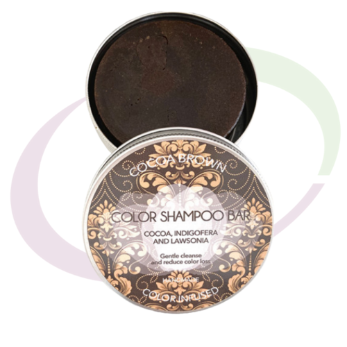 Biocosmé Cocoa Brown Shampoo Bar, 130 gr