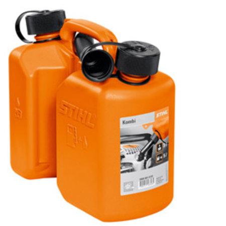 Stihl Combi-jerrycan, oranje, 3 l/1,5 l