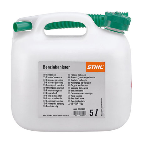 Stihl Benzinejerrycan, transparant, 5 l