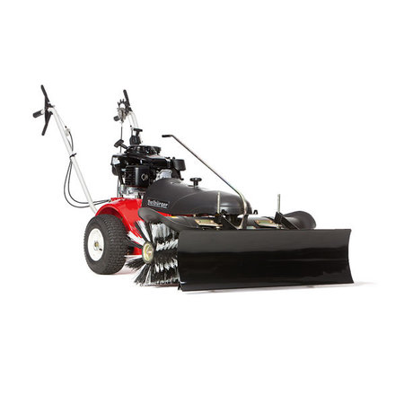 Tielbürger Motormaaier sneeuwschuif RS80