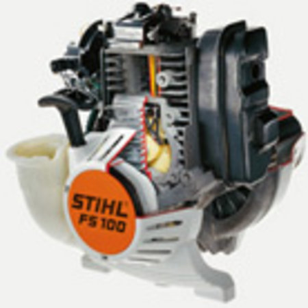 Stihl Benzine Bosmaaier FS 240 C-E, Driehoeksmes 250-3