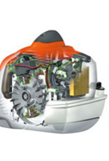 Stihl Benzine Bosmaaier FS 560 C-EM, Versie maaien, Driehoeksmes 350-3