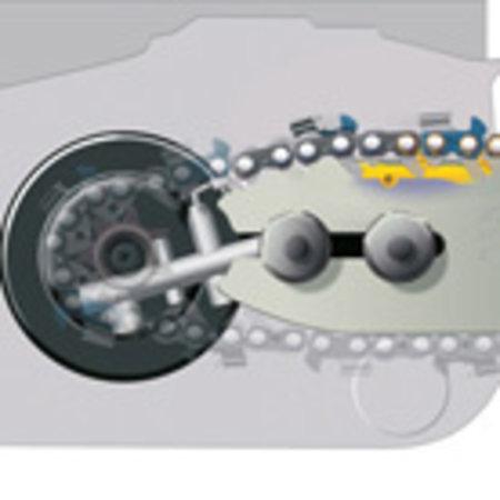 "Stihl Benzine Kettingzaag MS 251, 35 cm, PM3, 3/8"" P"