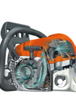"Stihl Benzine kettingzaag MS 261 C-M, 37 cm, RD3, .325"""