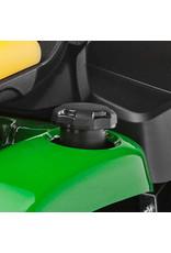 John Deere X350R Benzine Zitmaaier met grasopvangbak (107cm)