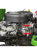 John Deere X126 Benzine Zitmaaier met maaidek (107cm)