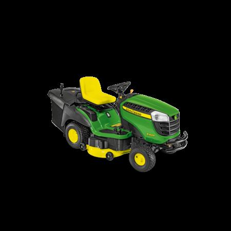 John Deere X166R Benzine Zitmaaier met achteruitworp (107cm)
