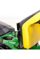 John Deere X146R Benzine Zitmaaier met maaidek (122cm)