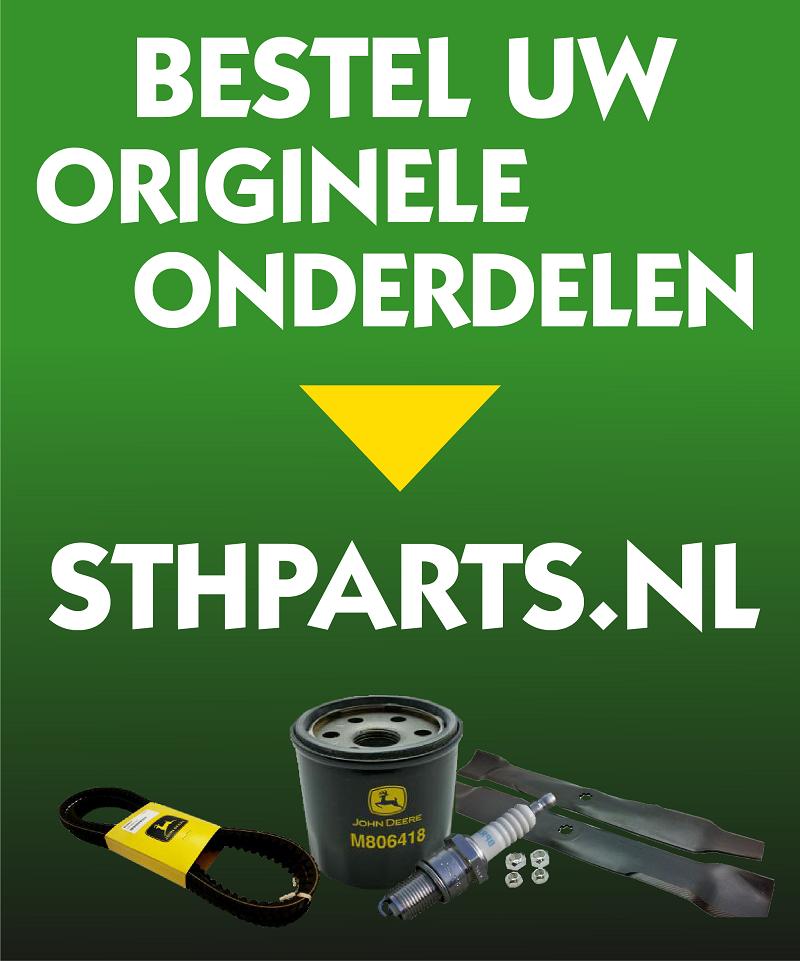 Bestel uw originele onderdelen op sthparts.nl