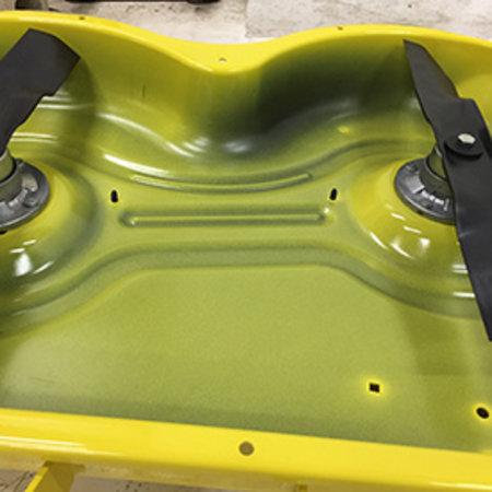 John Deere X354 Benzine Zitmaaier met zij uitworp (107cm)