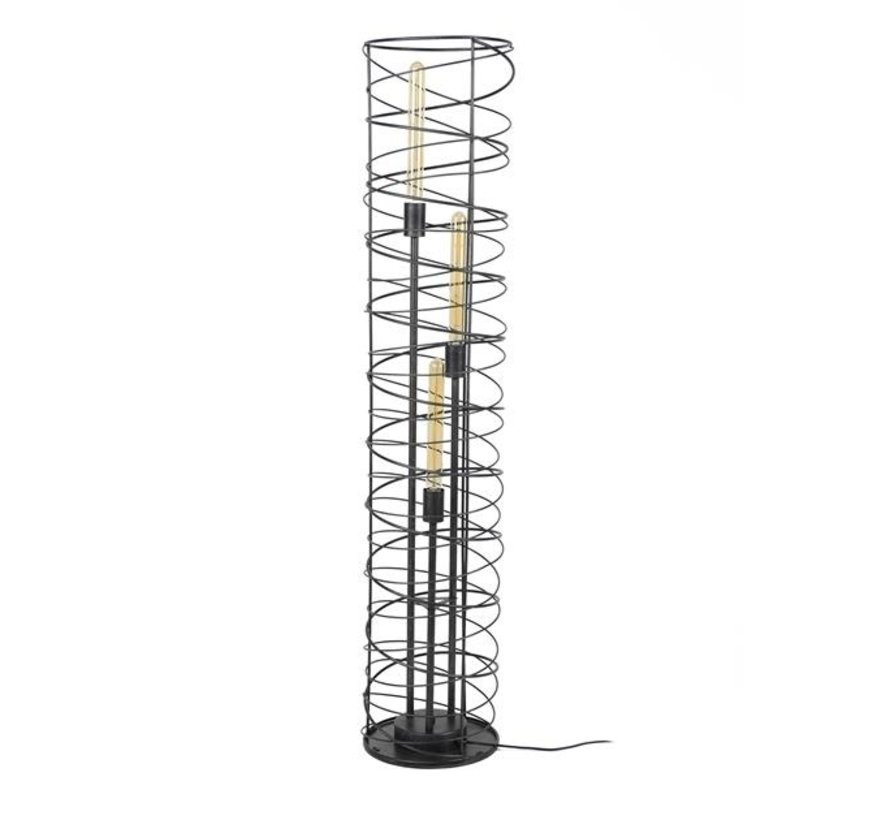Stehlampe Shane 3-flammig charcoal