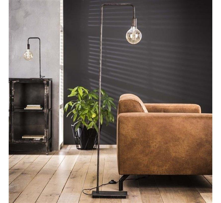 Stehlampe Simple 1-flammig altsilber