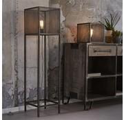 Stehlampe Rustic 1-flammig Industrial Design altsilber