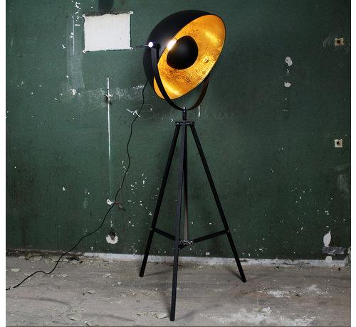 Stehlampe Soleil d'Or gold/schwarz
