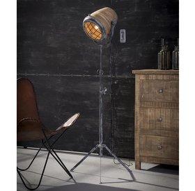 Stehlampe Nina Mangoholz / Metall