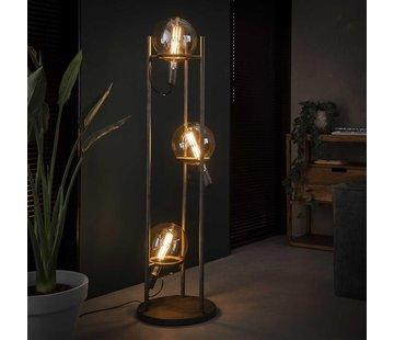 Stehlampe Jay 3-flammig altsilber