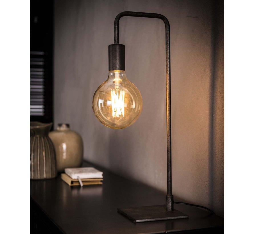 Tischlampe Simple 1-flammig altsilber